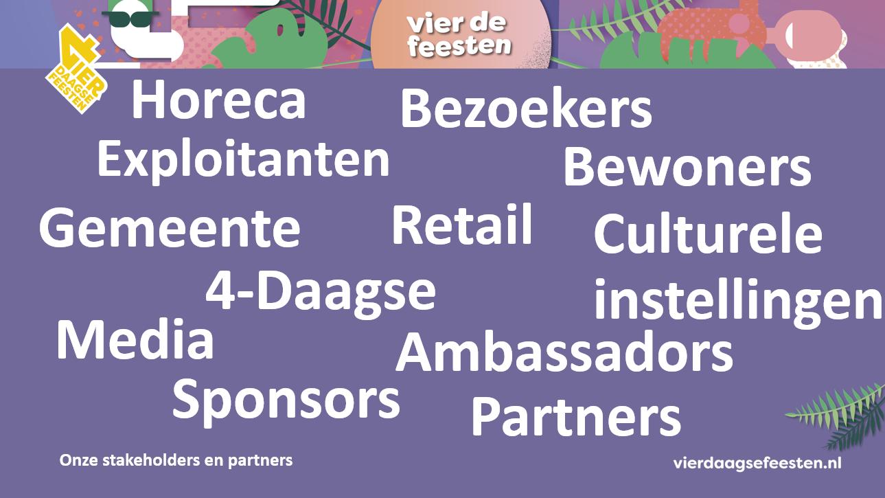 Onze stakeholders en partners